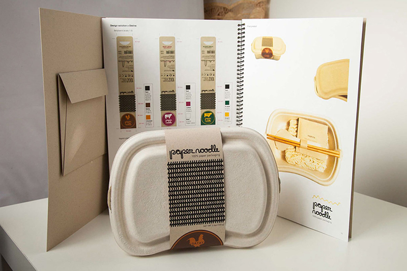 女大生做出「完全不製造垃圾」的泡麵 可進「微波爐」還不燙手!