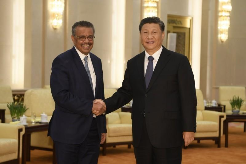 習近平大讚「譚德塞真的很努力」 中國將「繼續幫助各國」大家不用擔心!