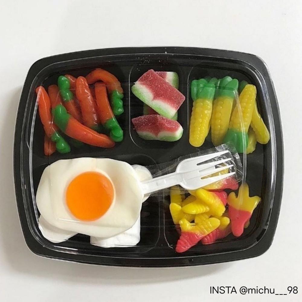韓國IG爆紅「迷你軟糖便當」紅蘿蔔變好吃 超Q模樣少女心噴發❤