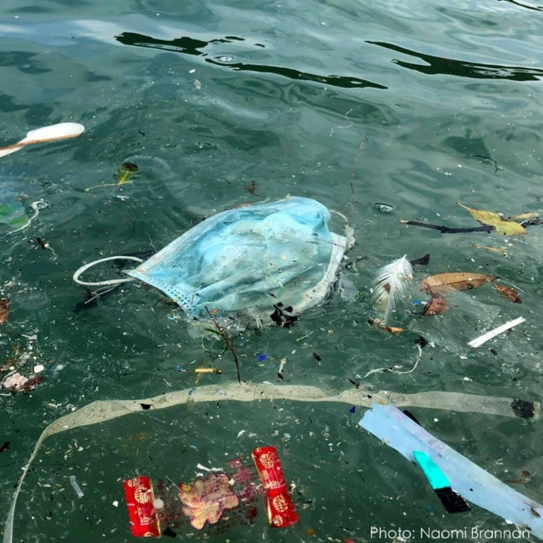 武肺爆發「口罩隨手丟」海洋遭殃 100公尺「撿70個口罩」專家嘆:洗手就好!