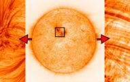 直視太陽不會瞎掉的機會來了 NASA公布高清照發現有空洞!
