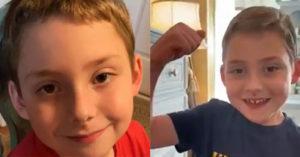 6歲罕病小男孩「戰勝武肺病毒」露驕傲笑容報平安:我贏了!