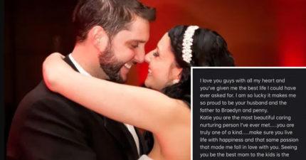 心碎妻找到「武肺離世老公」的最後一封情書:我太幸運了