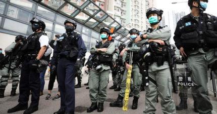 抓抗議民眾中標!港警「確診武肺」130名隊友被送「隔離營」2週