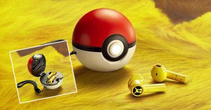 神奇寶貝大師必備的「寶貝球無線耳機」 側面藏了一隻發電機!