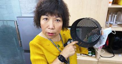 葉毓蘭用「氣炸鍋」蒸口罩結果悲劇 自爆差點「火燒立院」