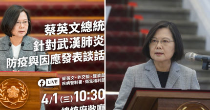 蔡英文總統:台灣「捐1千萬片口罩」給疫情嚴重國家 未來看產能繼續幫!