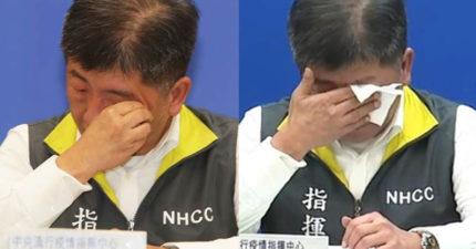 陳時中談「台灣防疫百日」心聲:要感謝媒體「精準報導」