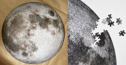 絕美「月球拼圖」在家防疫好物 想要「征服地球」也可以!