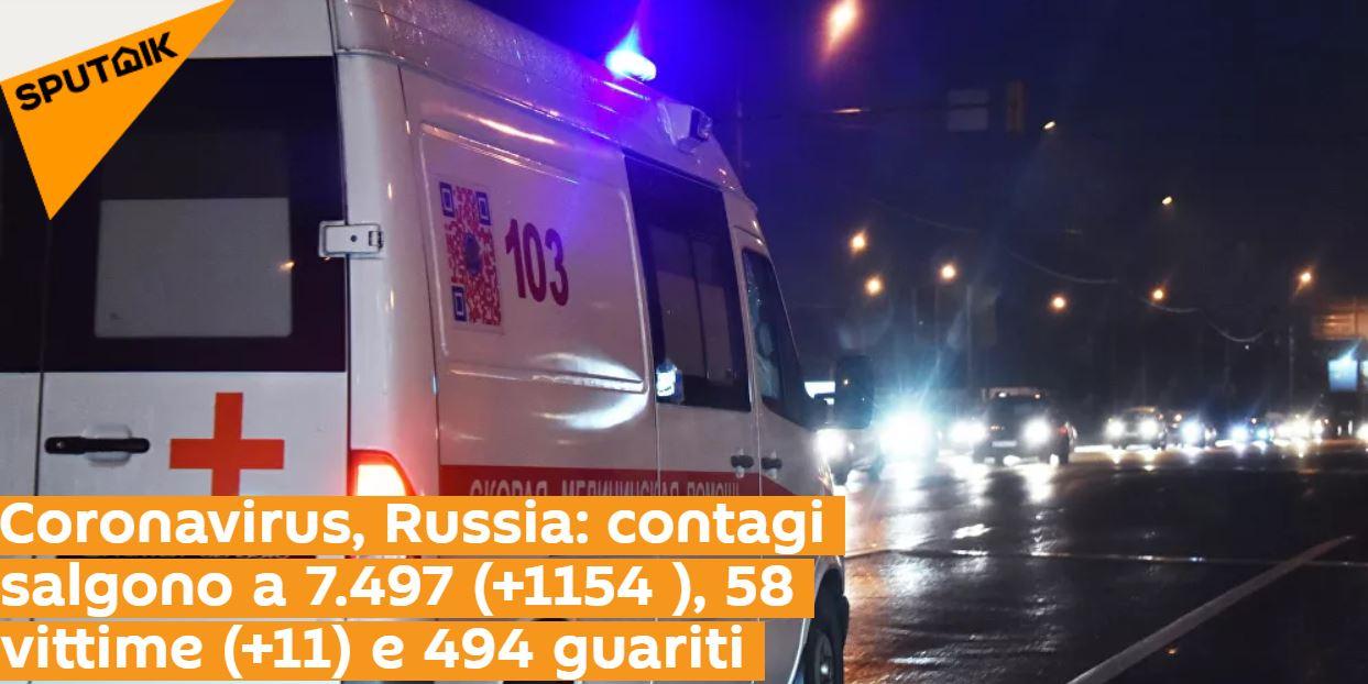 俄羅斯恐怕淪陷!24小時爆「1154確診」 50%都不到45歲!