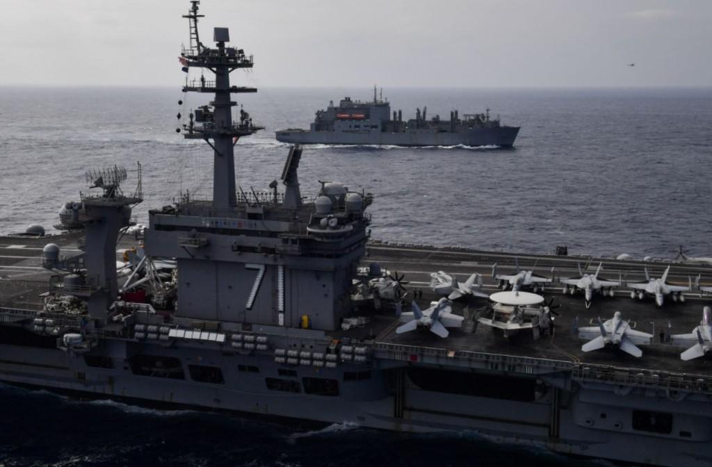 美航艦「羅斯福號」破百人確診!艦長發「緊急訊號」向高層求救:讓我們下船