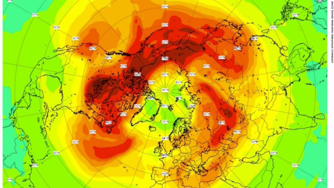 北極上空「最大臭氧洞」迅速恢復中 專家坦言:人類沒幫上忙!