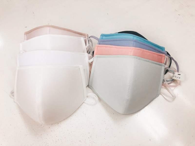 集中托高雙下巴!日本內衣廠製作「內衣口罩」網友:合法成為變態