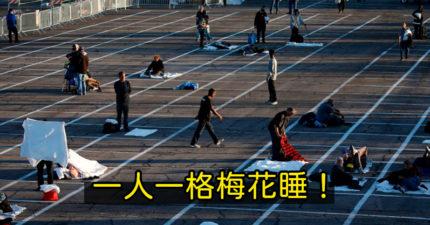 收容所爆「武肺確診」害整間關閉 遊民被趕去「停車場梅花睡」網全暴怒!