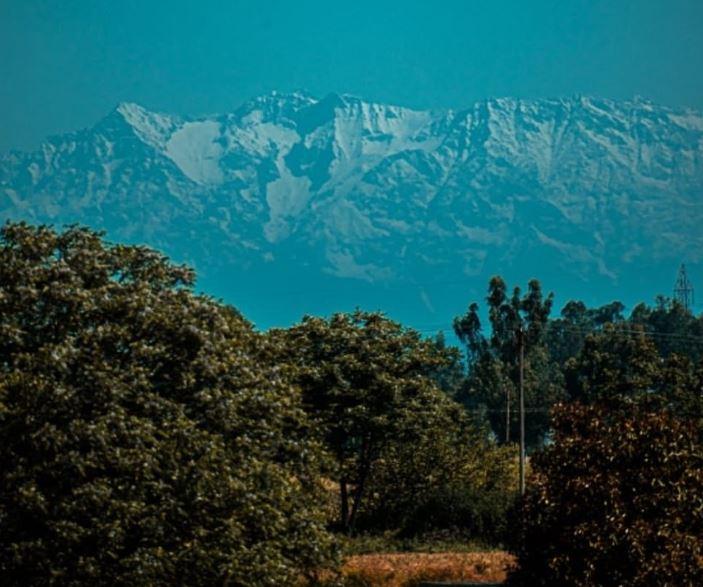 印度封鎖21天「30年首度」從家門口直視喜馬拉雅山!