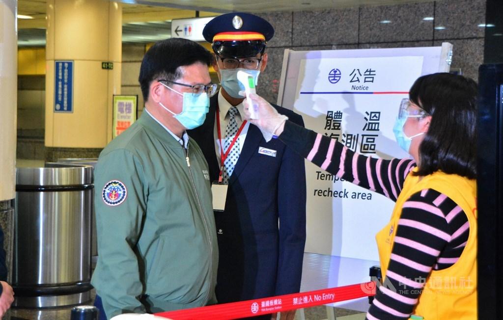 林佳龍宣布:4月1日起搭乘「大眾運輸」全程強制戴口罩!