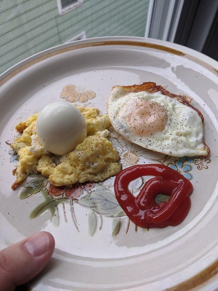 22道超荒唐「居家隔離料理」 只剩雞蛋也得像法式餐廳!