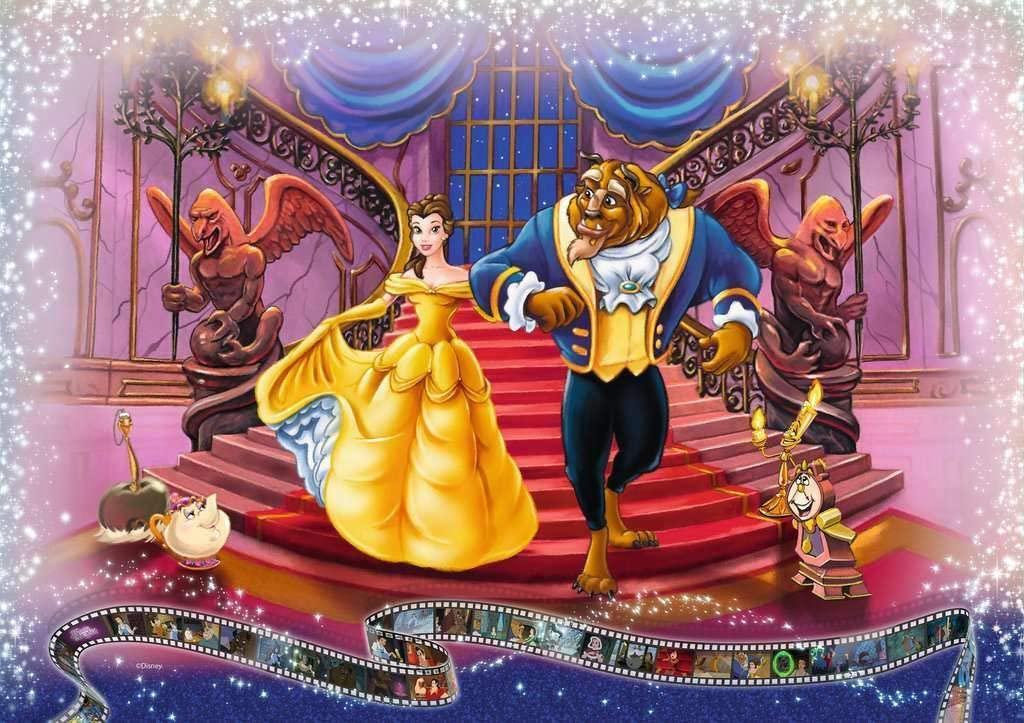 迪士尼推出「拼8個月才能完成」的超巨拼圖 經典場景全收錄!