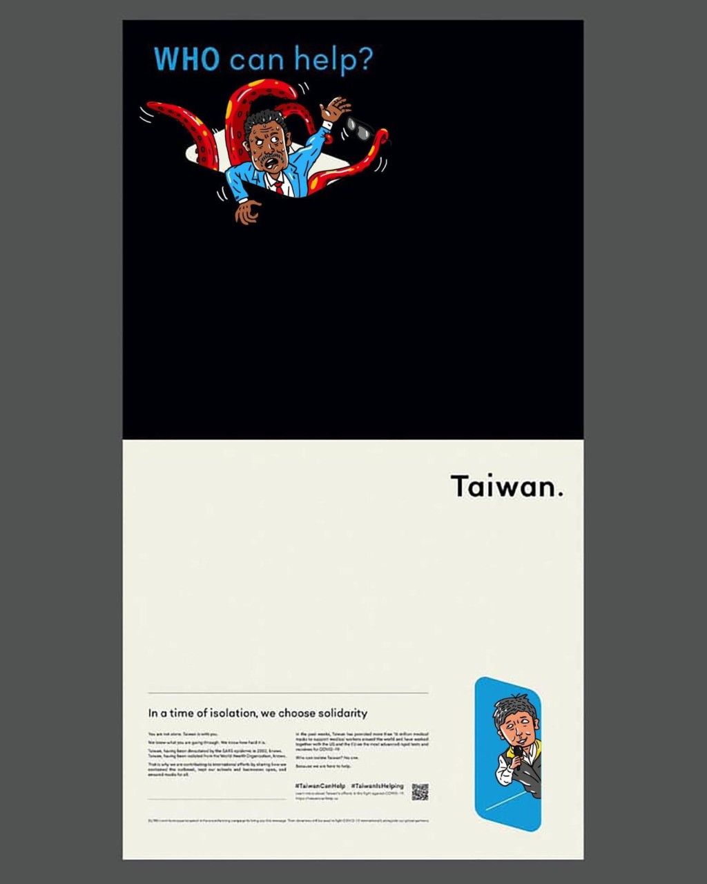 阿滴《紐約時報》廣告「被網友惡搞」 台灣長輩也上頭條!