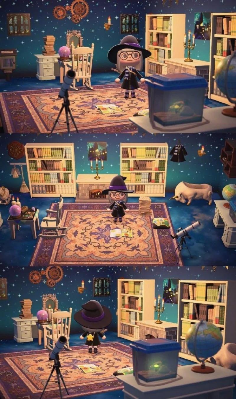 神玩家用《動森》做出「霍格華茲四學院」 細節讓哈利迷全瘋了❤