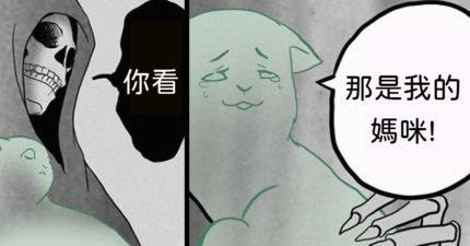 超催淚漫畫「死神與黑貓」結局!網友淚推:洋蔥加更多了...