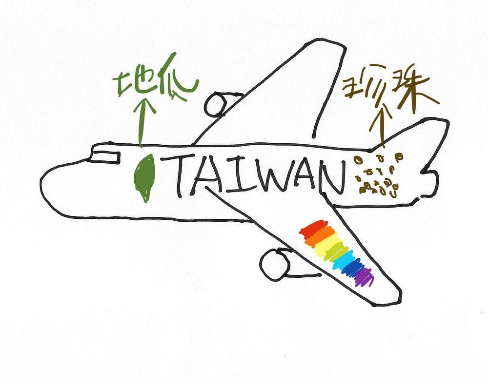 林佳龍公開「3張新華航草圖」滿版台味超有誠意