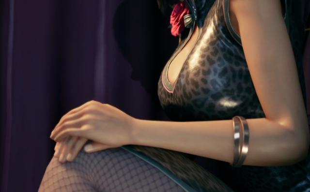 《最終幻想7》偷藏了「3套蒂法服裝」全部都太色了吧!