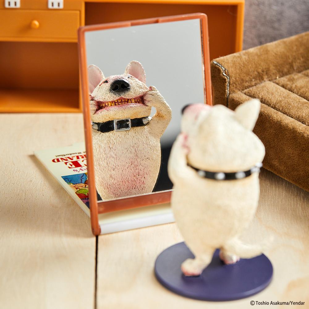 「笑嘻嘻動物」扭蛋第二彈 白狗表情「太機車」...買!