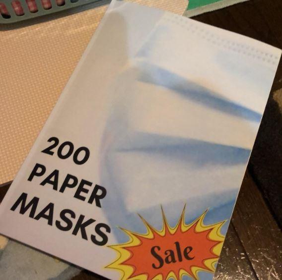 上網買「200個口罩」卻收到一本書?她上網討拍被罵:沒長眼!