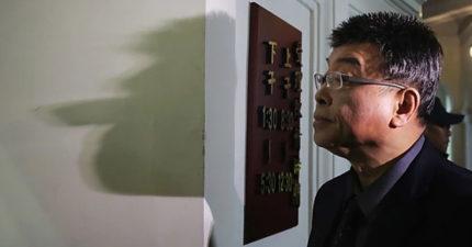 新聞攝影大賽「邱毅的影子」奪亞軍 網友笑翻:太有深意!