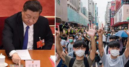 中國火速通過「港區國安法」 擬定法律後「最快8月實行」!