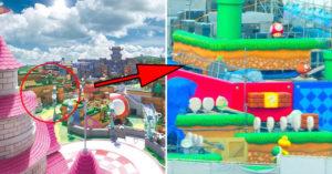 日本任天堂樂園「空拍照」曝光 找到「神聖旗幟」讓人超興奮