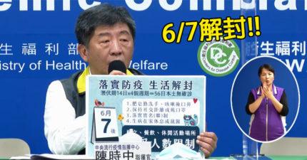 倒數12天「台灣解除封鎖」 陳時中:前提「+0」要達標