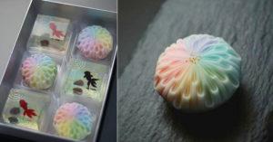 和菓子職人做出「超迷幻花火」 想吃「絕美作品」還要看運氣!