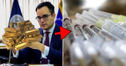 委內瑞拉經濟大崩潰 只能「拿黃金換口罩」食物也快沒了