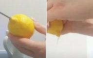 先切開就錯了!網友分享「駭客擠檸檬法」跟擠牛奶一樣順
