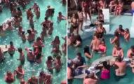 疫情還沒解禁「上百人塞爆泳池派對」 武肺病毒也敬佩按讚!