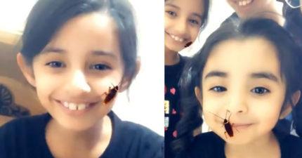 影/讓你體驗「蟑螂在臉上爬」的App...最後釀災!女孩崩潰