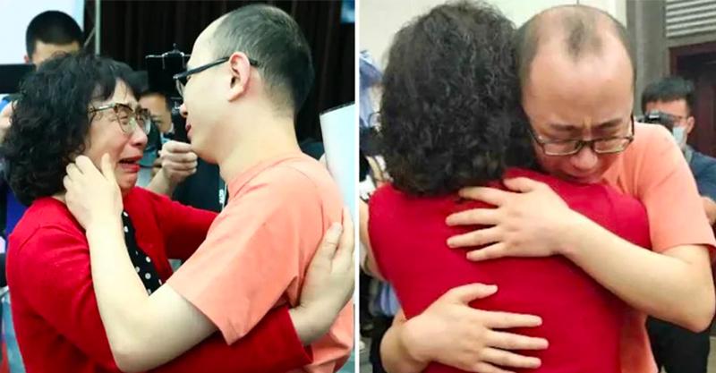 慈母花32年找到「被綁走兒子」 男童變大叔:早就認識妳了