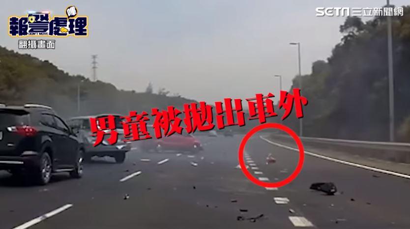 國道遇事故「5歲男童拋飛」無心跳 美女消防「路過」救回一命