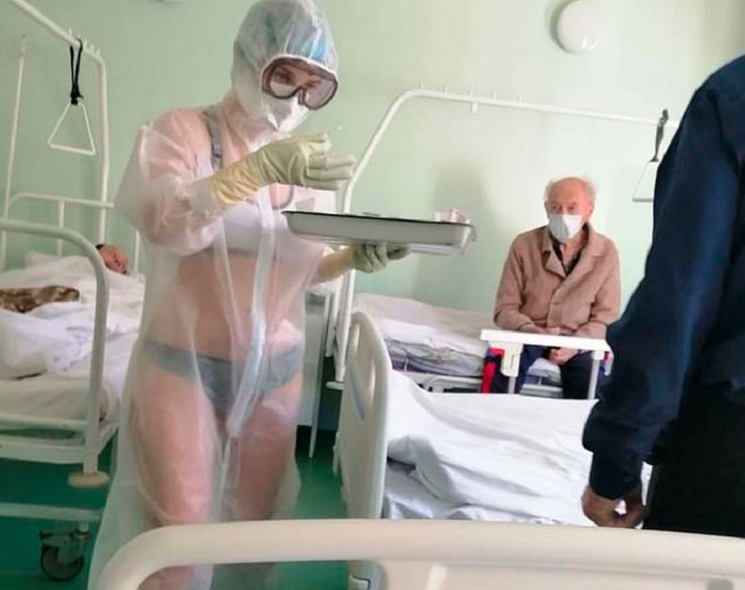 護士「穿透視裝上班」被懲罰 內衣名牌「用行動力挺」超帥氣
