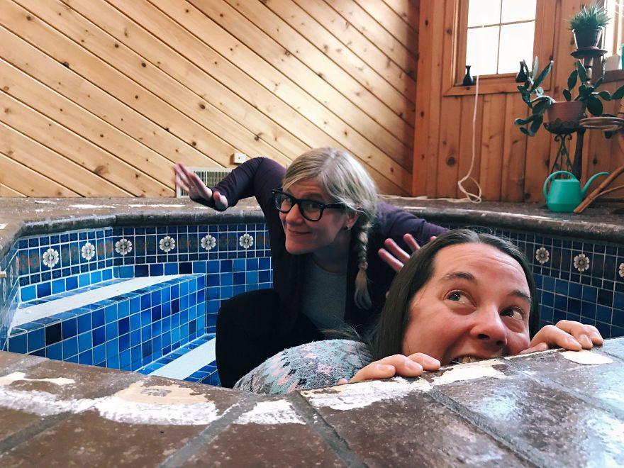 前屋主透露「房子下有秘密」 挖開竟藏一座「羅馬浴場」!