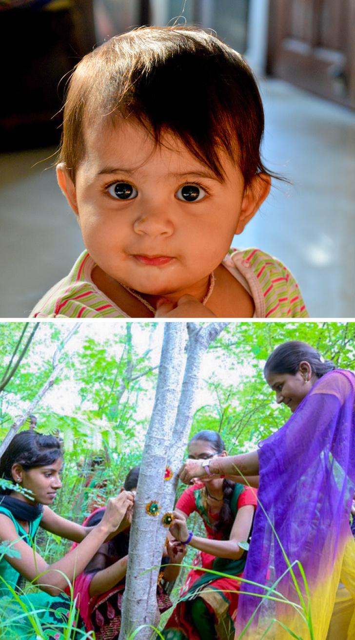 印度「神秘村落」擁有整片綠森林 每棵樹都是「一個少女」!