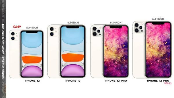 iPhone 12完整規格流出!容量加倍「小資價買得起」