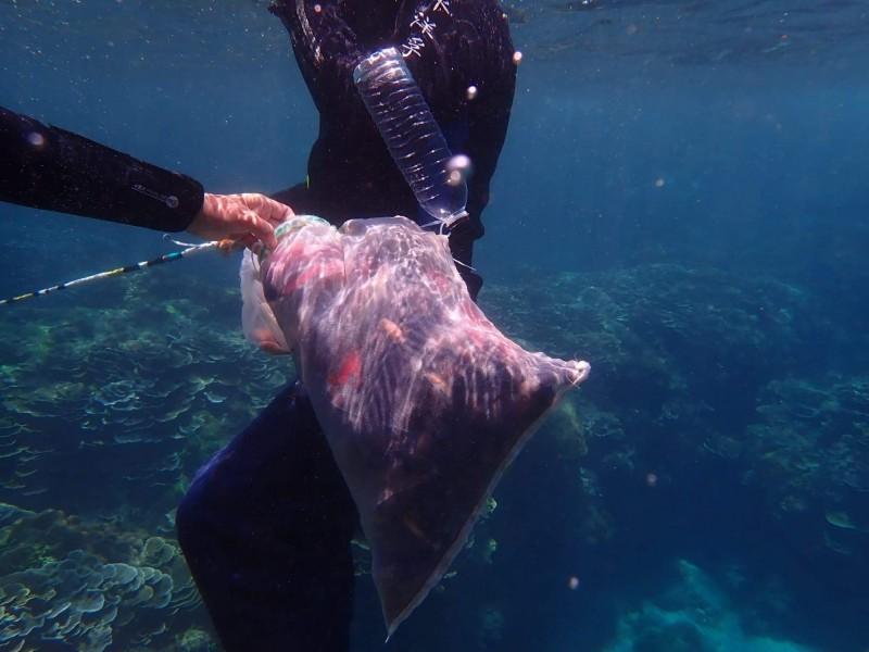墾丁盜獵者出怪招「潛海裡釣魚」狡辯:我又沒抓!