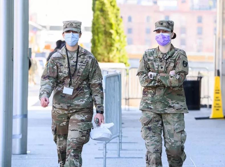 美軍公布:確診過武肺「終生禁止入伍」就算痊癒也不行!