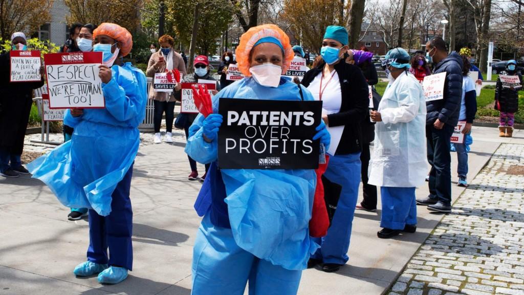 一線醫護「被砍薪放假」連署抗議 高層「百萬獎金」照樣爽領!