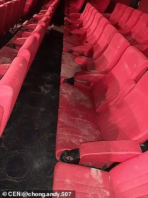 封2個月「影院座椅」變白色 「黴菌+灰塵」網嚇:平常這麼髒?
