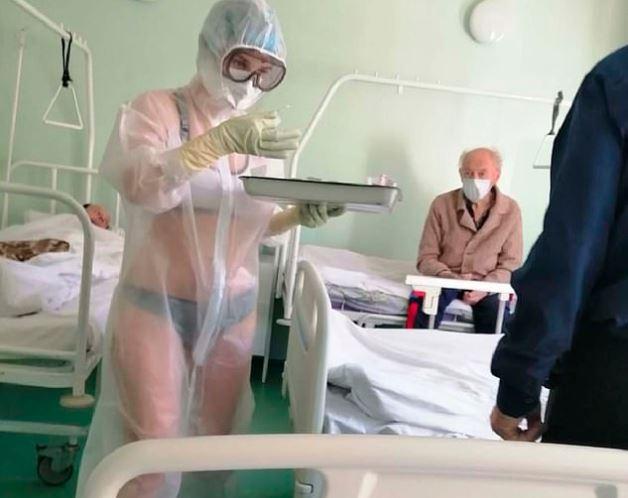 護理師「穿透視裝上班」有苦衷 男病患「爽偷拍」害她被懲處