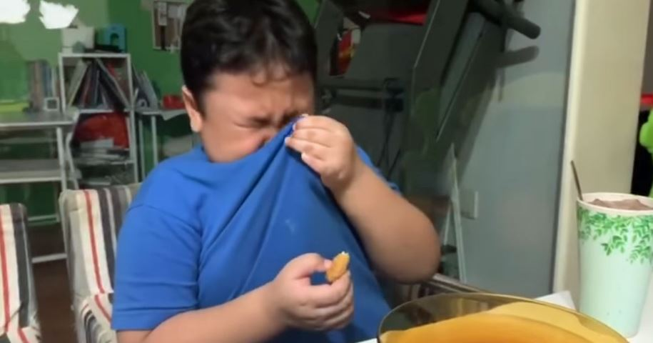 影/弟弟太久沒吃麥當勞 解禁後「看媽媽回家」他哭到抽搐